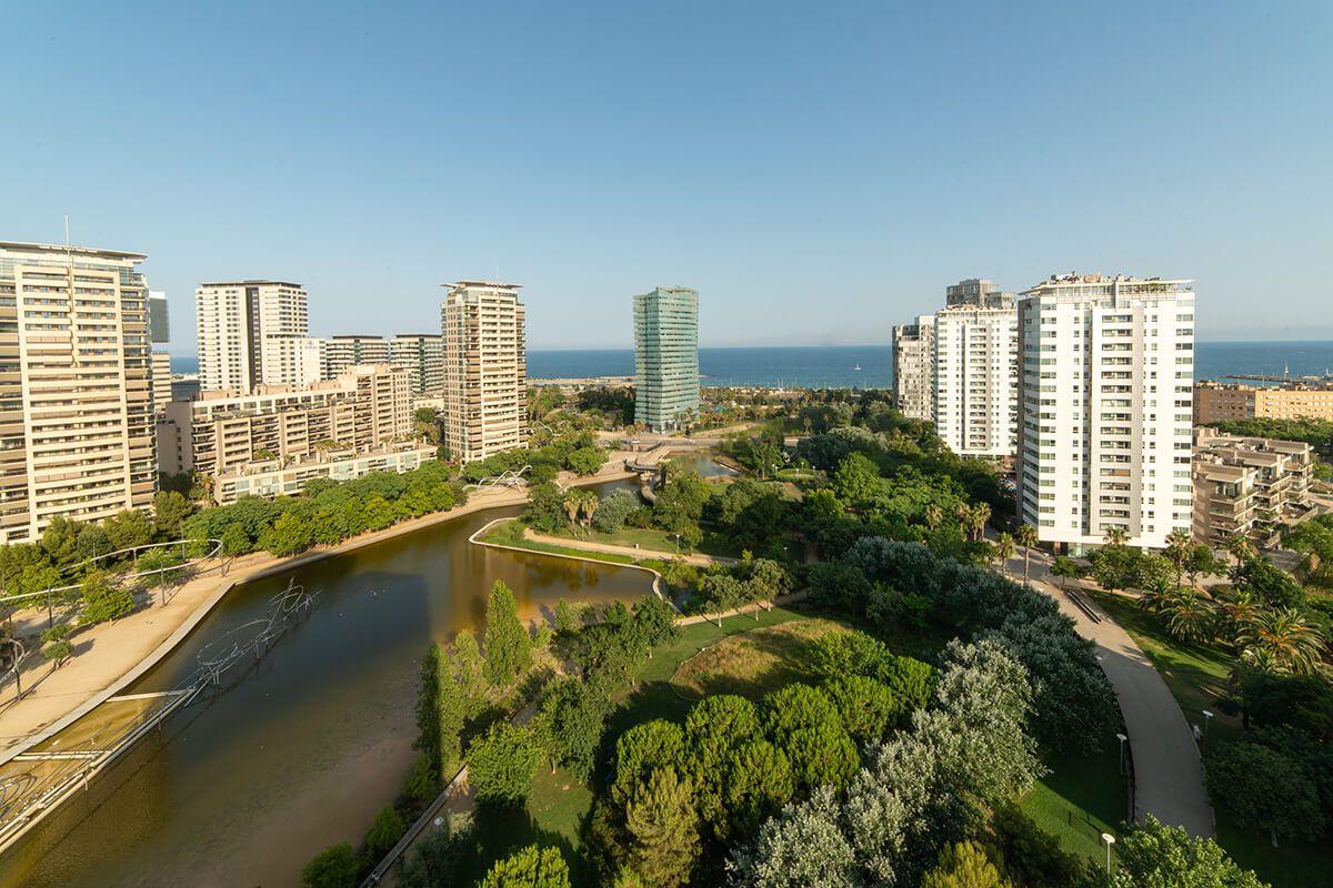 Obra Nueva Barcelona Diagonal Mar